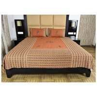Patch work Cotton Double Bed Sheet