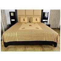 Rajasthani design Appliqué work Bedsheet