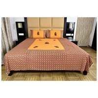 Rajasthani jaipuri Appliqué work Bedsheet