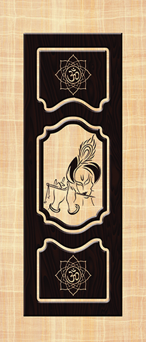 Decor Door Paper Print