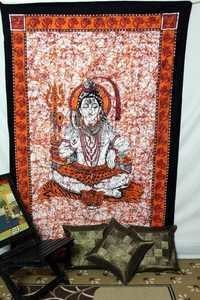 Lord Shiva Design Tapestry
