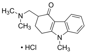 3-[(Dimethylamino)methyl]-9-methyl-1,2,3,9-tetrahydro-4H-carbazol-4-one hydrochloride