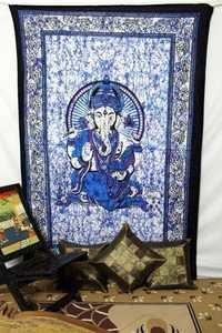 Ganesha Spiritual Hippie Indian tapestry