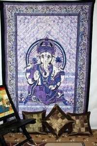 Indian cotton tapestry