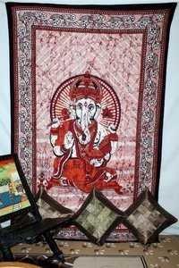 Ganesha design  handmade tapestry