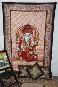 Lord Ganesha Picture Spiritual pattern tapestry