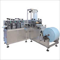 Nonwoven Shoe Cover Making Machine