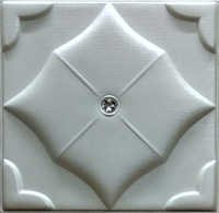 Pearl White Leather Wall Panel