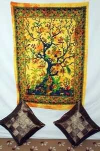 Tree design tapestry