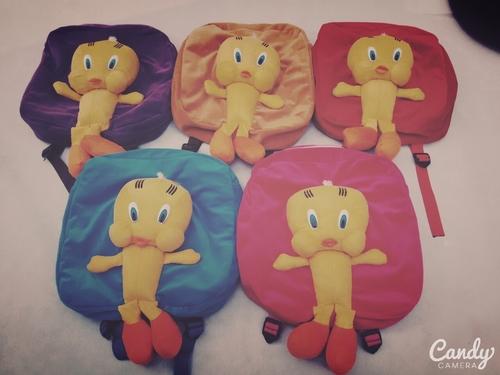 Tweety School Bags