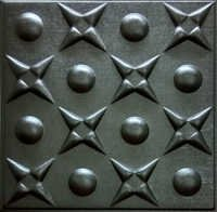 Coffee Brown Leather Ceiling Panel