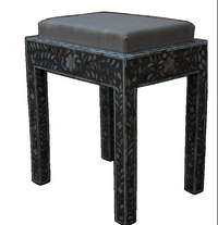 Bone Inlay Seater