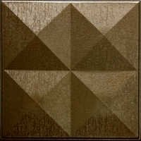 Decorative Metallic Copper Leather Tiles