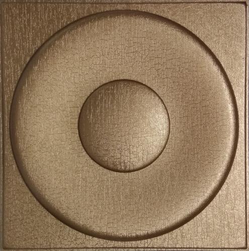 Silfra Leather Panel Metallic Bronze