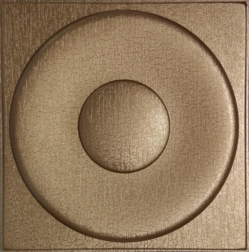 Silfra Leather Panel Metallic Bronze