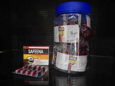 Safeena Caps Jar