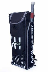 APG Individual Cricket Kit Bag (Black & Grey)