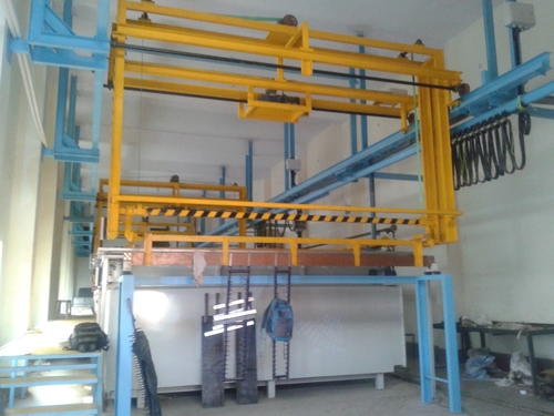 Rack Electroplating  Plant