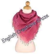 Silk Crepe Scarves