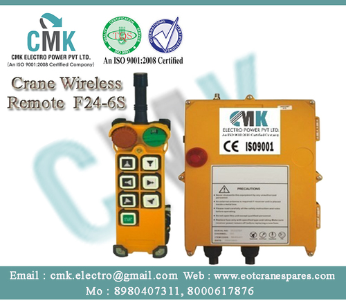 Hoist Radio Remote control - CMK ELECTRO POWER PVT  LTD , Survey No