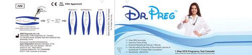 HCG Pregnancy Card