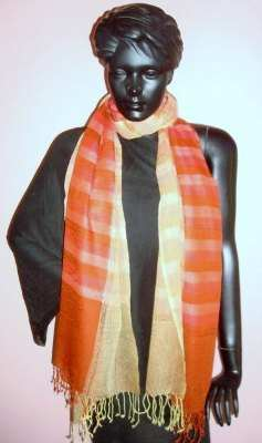Silk Cashmere Printed Scarves