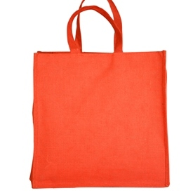 Gorcery Red Jute Bag