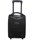 Black One Day Over Nighter trolley Bags