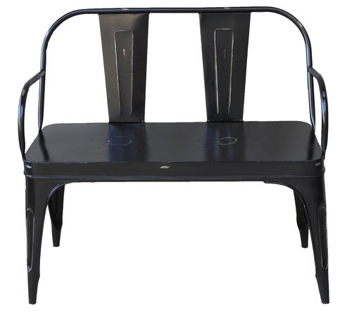Iron Chair To Seater