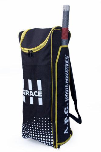APG Cricket Individual Kit Bag (Black & Yellow)