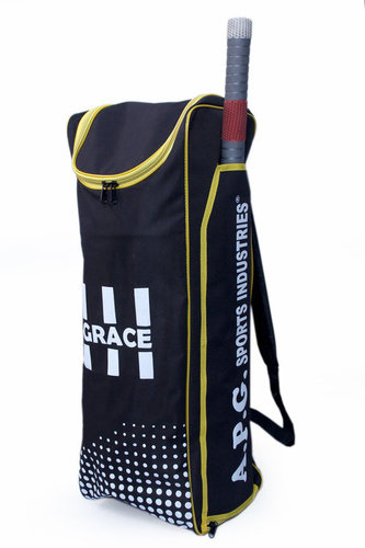 APG Cricket Individual Kit Bag (Black & Yellow)