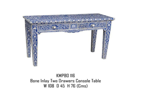 Bone Inlay Table
