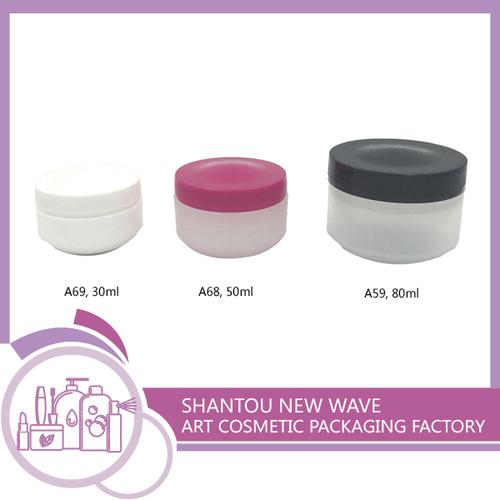 Plastic Empty Cream Jar Container