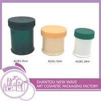 Plastic Empty Cream Jar