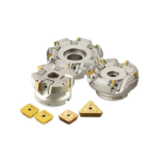 Taegutec milling inserts are of high hardness
