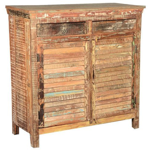 Reclaimed Wood 2-door and 2-drawer Sideboard
