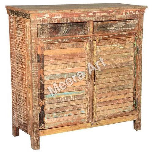 Reclaimed Wood 2-door and 2-drawer Sideboard