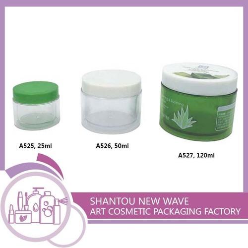 Plastic Empty Cream Jars Container