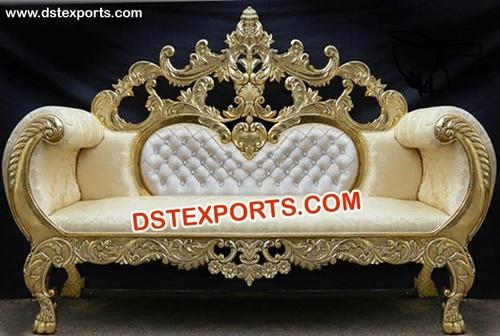 Royal Wedding Designer Carved Sofa