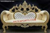 Royal Wedding Designer Carved Sofa