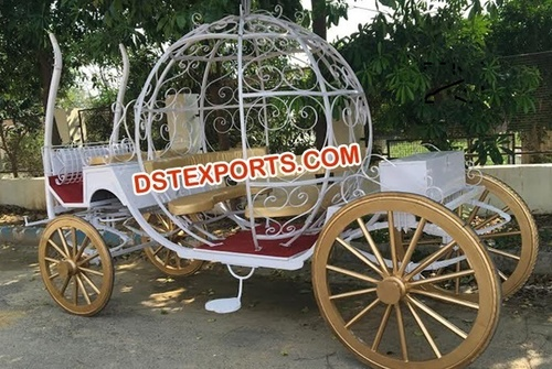 Wedding Cinderella Horse Carriage