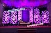 New Paisley Decor Wedding Stage