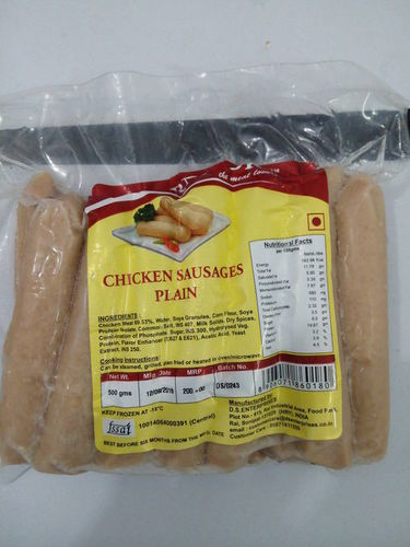 CHICKEN SAUSAGES PLAIN