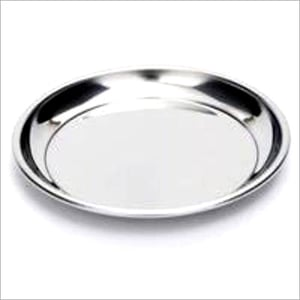 Stainless Steel Lunch Plate