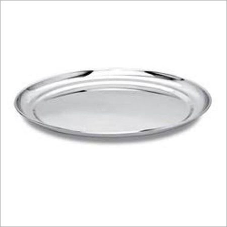Stainless Steel Dinner Plate