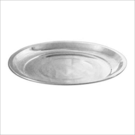 Stainless Steel Silver Touch Dinner Plate