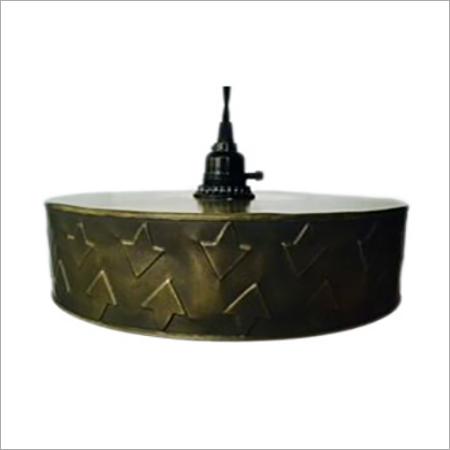 Embossed Metal Pendant Lamp