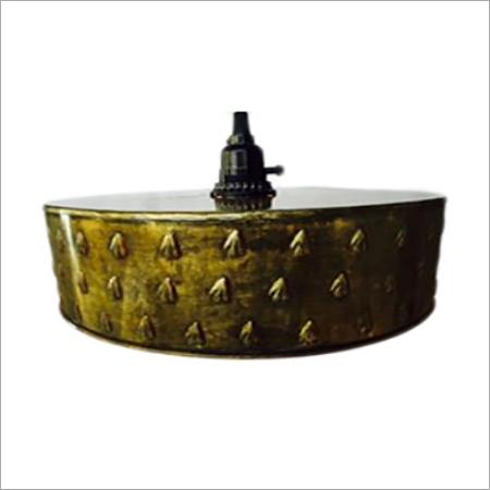 Embossed Antique Metal Pendant Lamp