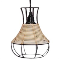 Jute Pendant Light