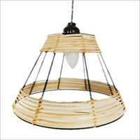 Wire Pendant Lamp with Jute